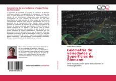 Portada del libro de Geometría de variedades y Superficies de Riemann
