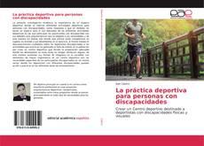 Buchcover von La práctica deportiva para personas con discapacidades