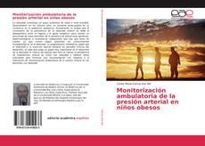 Portada del libro de Monitorización ambulatoria de la presión arterial en niños obesos