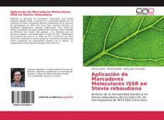 Aplicación de Marcadores Moleculares ISSR en Stevia rebaudiana kitap kapağı