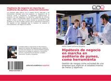 Capa do livro de Hipótesis de negocio en marcha en auditoria de pymes, como herramienta
