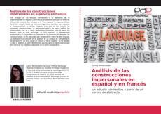 Análisis de las construcciones impersonales en español y en francés kitap kapağı
