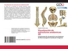 Portada del libro de Visualización de estructuras anatómicas 3D