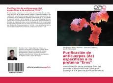 """Bookcover of Purificación de anticuerpos (Ac) específicos a la proteína """"Erns"""""""