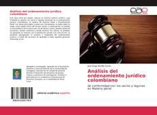 Borítókép a  Análisis del ordenamiento jurídico colombiano - hoz
