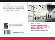 Borítókép a  Gobernanza de la administración de la salud pública - hoz