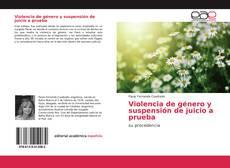 Bookcover of Violencia de género y suspensión de juicio a prueba