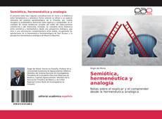 Обложка Semiótica, hermenéutica y analogía
