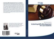 Listening skills development for Law students kitap kapağı