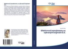 Efektívnosť manažmentu vo vybraných krajinách E.U.的封面