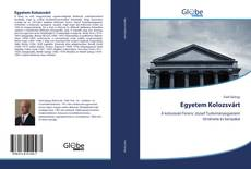 Portada del libro de Egyetem Kolozsvárt