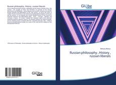Bookcover of Russian philosophy , History , russian liberals