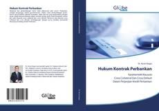 Bookcover of Hukum Kontrak Perbankan