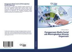 Portada del libro de Penggunaan Media Sosial utk Meningkatkan Kinerja Organisasi