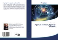Tipologii criminale, tipologii suicidale kitap kapağı