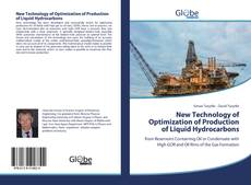 Bookcover of New Technology of Optimization of Production of Liquid Hydrocarbons