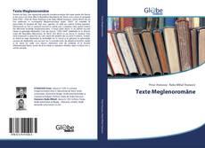Texte Meglenoromâne kitap kapağı
