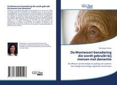 De Montessori-benadering die wordt gebruikt bij mensen met dementie kitap kapağı