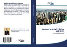 Borítókép a  Manager-myopie in Duitse bedrijven - hoz