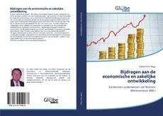 Capa do livro de Bijdragen aan de economische en zakelijke ontwikkeling