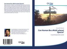 Bookcover of Can human be a multi-planet species?