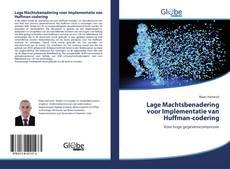 Bookcover of Lage Machtsbenadering voor Implementatie van Huffman-codering