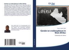 Обложка Gender en vredesopbouw in West-Afrika: