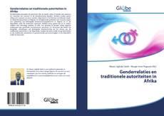 Bookcover of Genderrelaties en traditionele autoriteiten in Afrika