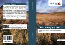 Capa do livro de The Country Attorney