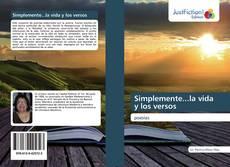 Buchcover von Simplemente...la vida y los versos