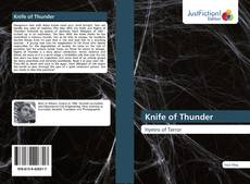 Portada del libro de Knife of Thunder