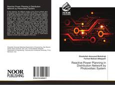 Bookcover of Reactive Power Planning in Distribution Network by Photovoltaic System