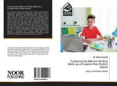 Couverture de Fostering the Memoir Writing Skills as a Creative Non-Fiction Genre