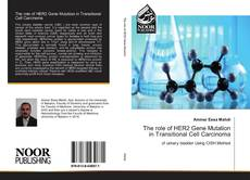 Bookcover of The role of HER2 Gene Mutation in Transitional Cell Carcinoma