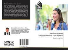 Bookcover of Emotion Detection From Speech
