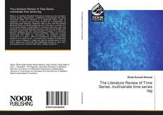 Bookcover of The Literature Review of Time Series, multivariate time series lag