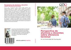 Borítókép a  Perspectiva de alumnos y docentes sobre eficiencia terminal - hoz