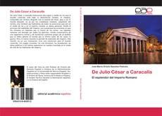 Обложка De Julio César a Caracalla