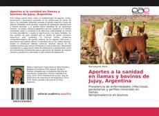 Buchcover von Aportes a la sanidad en llamas y bovinos de Jujuy, Argentina