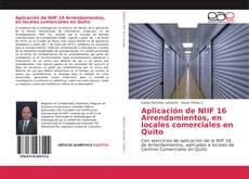 Borítókép a  Aplicación de NIIF 16 Arrendamientos, en locales comerciales en Quito - hoz