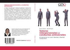 Portada del libro de Valores interpersonales y conductas antisociales