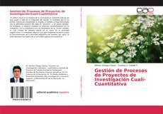 Capa do livro de Gestión de Procesos de Proyectos de Investigación Cuali-Cuantitativa