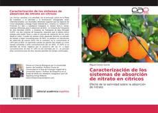 Bookcover of Caracterización de los sistemas de absorción de nitrato en cítricos