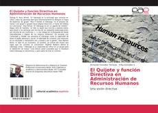 Capa do livro de El Quijote y función Directiva en Administración de Recursos Humanos