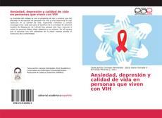 Copertina di Ansiedad, depresión y calidad de vida en personas que viven con VIH