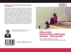 Educación Intercultural Bilingüe Andina - Occidental的封面