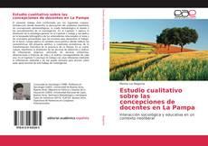 Обложка Estudio cualitativo sobre las concepciones de docentes en La Pampa