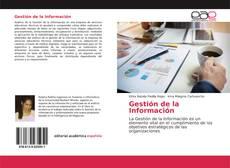 Bookcover of Gestión de la Información