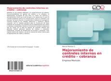 Portada del libro de Mejoramiento de controles internos en crédito – cobranza