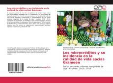 Portada del libro de Los microcréditos y su incidencia en la calidad de vida socias Grameen